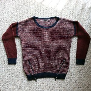 Size M Dex Blue & Red Sweater